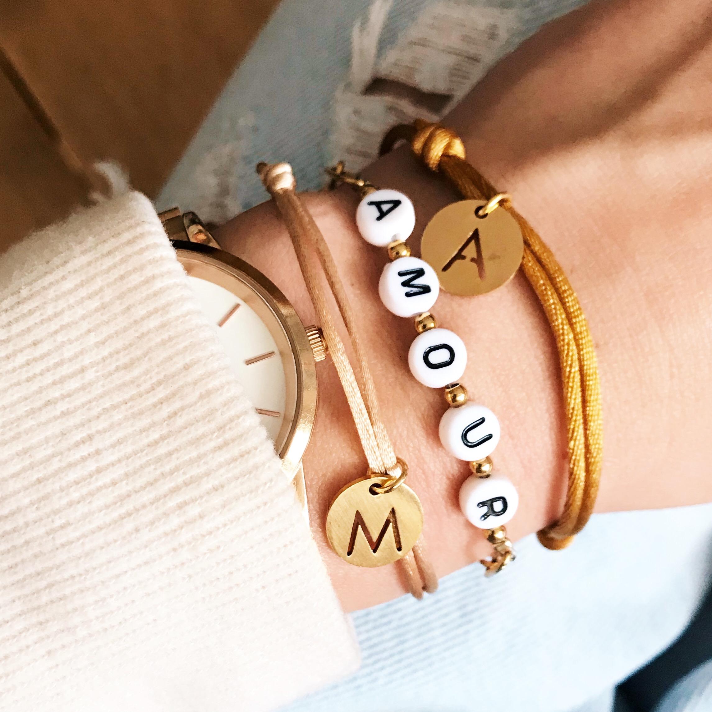 Initialen armbanden